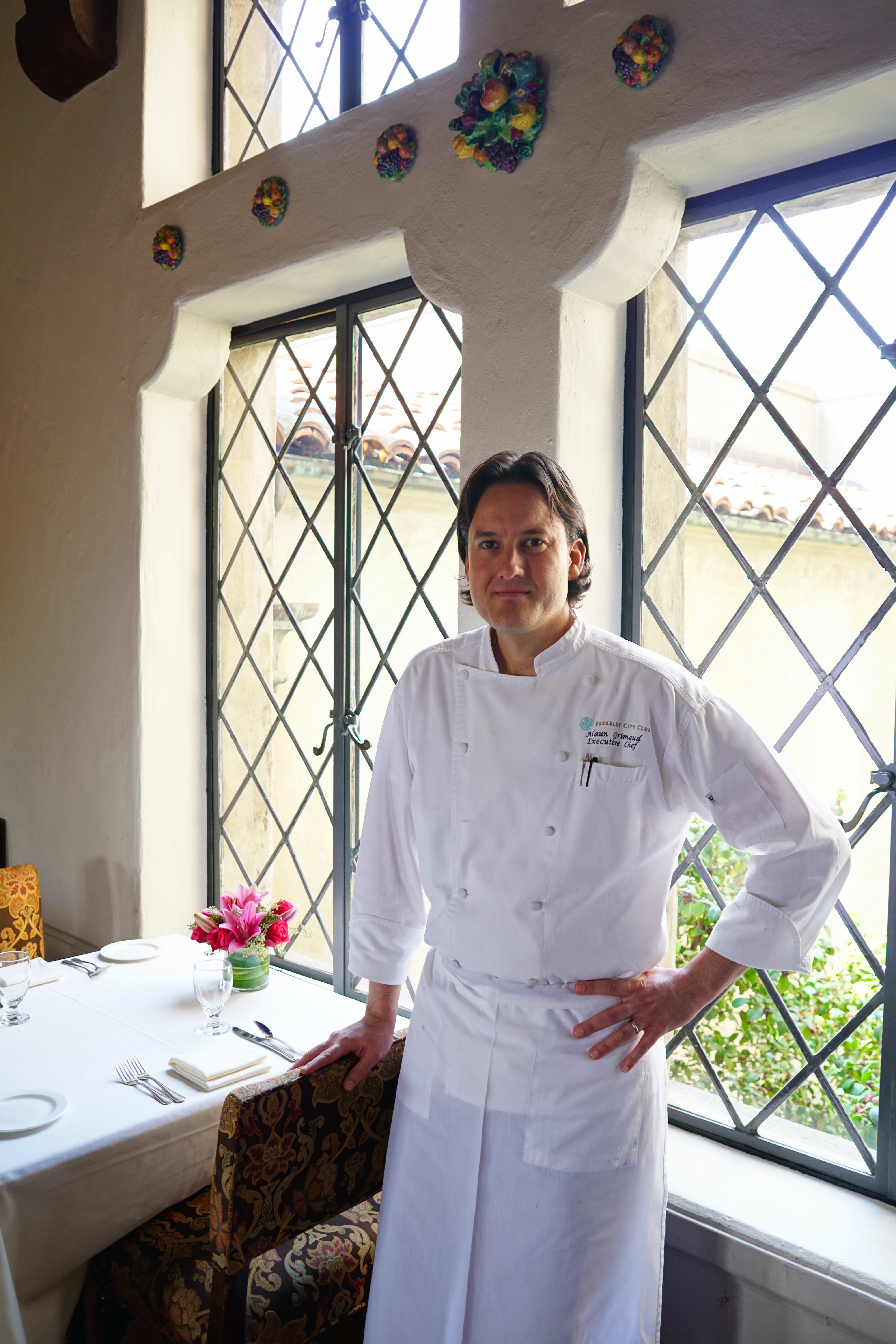 What does the executive chef do