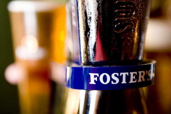 Illustrative image of Foster's beer.