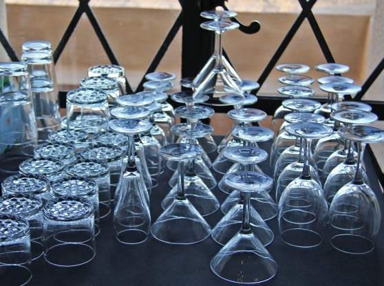 Glasses at Happy Hour - David Bunnell