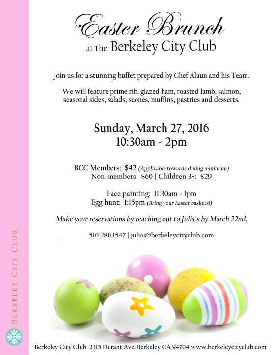 Easter Brunch 2016